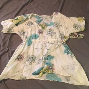 Johnny Was Flowy Floral Top